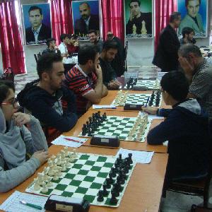 خمام - تیم هیئت شطرنج خمام با نتیجه ۳.۵ بر ۰.۵ باشگاه شطرنج نوین را مغلوب کرد