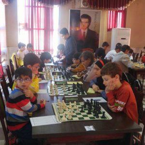 خمام - حضور ۴ خمامی در مسابقات شطرنج جام سپیدرود