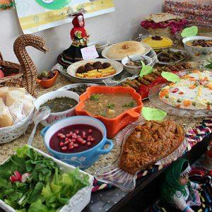 خمام - جشنواره غذای سالم در مرزدشت برگزار شد
