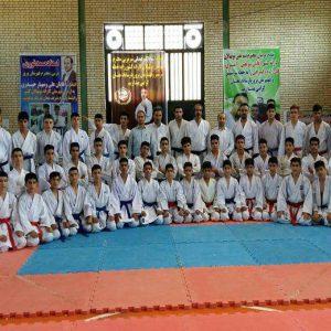 خمام - ماهان نوروزی به اردوی آمادهسازی تیم ملی کاراته نونهالان کشور اعزام شد