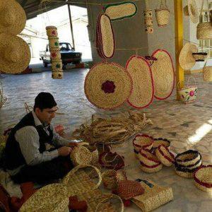 خمام - در حوزه حصیربافی صاحب سبک بودهایم / در حال طراحی محصولاتی برای رونمایی در جشنواره ملی حصیر هستیم