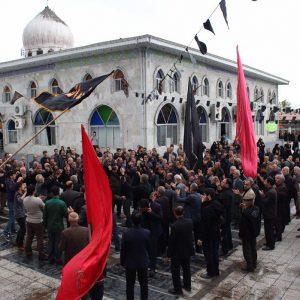 خمام - اجتماع اربعین حسینی در خمام برگزار شد