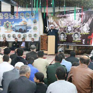 خمام - مراسم یادوارهی شهدای خواچکین در مسجد جندالله برگزار شد