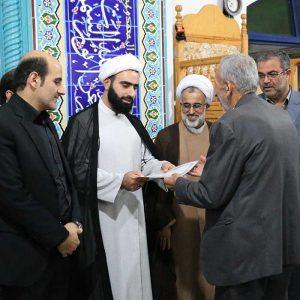 خمام - حجتالاسلام شعبانپور به عنوان امام جماعت مسجد سیدالشهدا (ع) معرفی شد