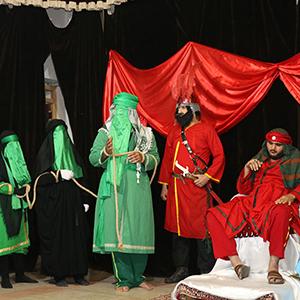 خمام - آیین خطبه خوانی حضرت زینب (س) برگزار شد