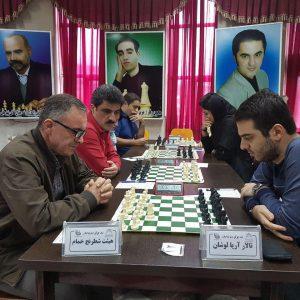 خمام - ۲ پیروزی و ۲ شکست، حاصل تلاش ۴ تیم خمامی حاضر در رقابتهای لیگ برتر شطرنج گیلان