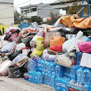 خمام - تبلور مهرورزی و نوعدوستی در خمام / کمکهای مردمی برای زلزلهزدگان ارسال شد