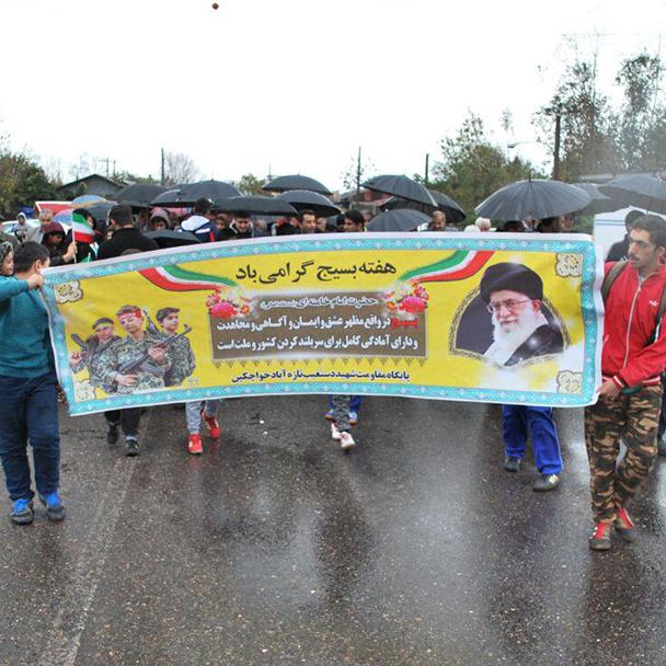 همایش پیادهروی خانوادگی در روستای تازهآباد خواچکین برگزار شد