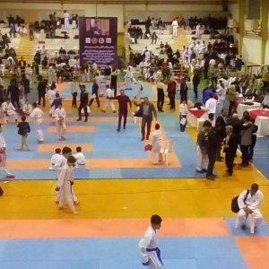 خمام - درخشش ورزشکاران خمامی در رقابتهای کاراته قهرمانی استان گیلان / ۴ داور خمامی به قضاوت دیدارها پرداختند