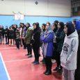 مسابقات بسکتبال ۳ نفره بانوان استان گیلان به میزبانی خمام برگزار شد