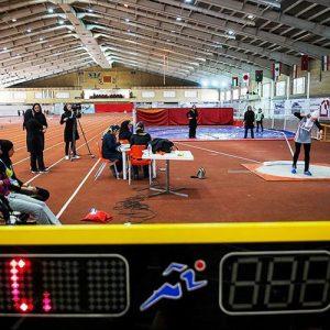 خمام - افروز مظفری به عنوان نائب قهرمانی رشته دو و میدانی در ماده پرتاب وزنه دست یافت