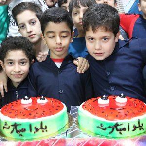 خمام - مراسم «شب یلدا» در مدارس خمام برگزار شد