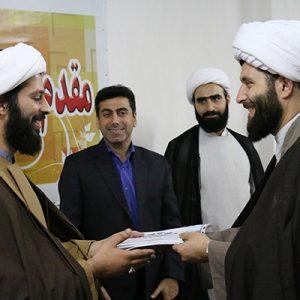 خمام - حجتالاسلام پوریوسفی به عنوان مسئول اتحادیه انجمنهای اسلامی دانشآموزان معارفه شد