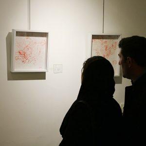 خمام - نمایشگاه گروهی نقاشی «ساعت پنج عصر» در نگارخانه کوچه باغ افتتاح شد