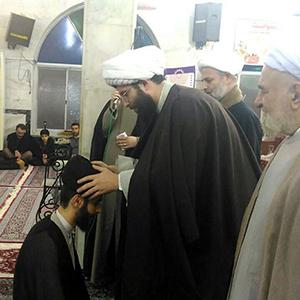 مراسم عمامه گذاری حجتالاسلام سیدرضا حسنی برگزار شد