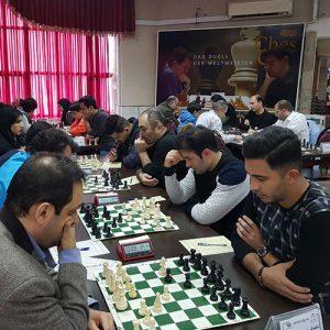 خمام - تیمهای خمامی در ردههای پنجم تا هشتم جدول لیگ برتر شطرنج گیلان حضور دارند