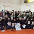 قهرمانی تیم دهخدا در مسابقات والیبال بانوان آموزشگاههای بخش خمام