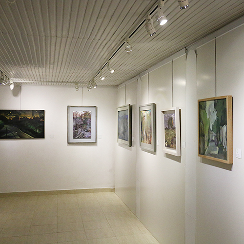 نمایشگاه گروهی نقاشی «کوچه باغ» برگزار شد