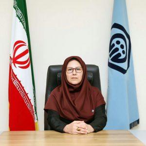 خمام - آذر جلالی به عنوان رئیس جدید تامین اجتماعی شعبه خمام معارفه شد