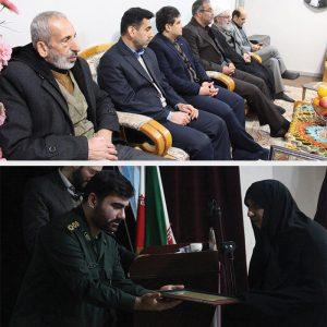 خمام - از دیدار با خانوادههای معظم شهدا تا برگزاری مراسم بزرگداشت پیروزی انقلاب اسلامی