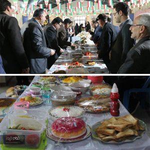 خمام - جشنواره غذای سالم در مدارس خمام برگزار شد