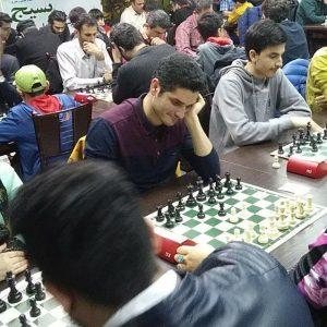 خمام - معین شمس و بهرام خیرخواه برترین شطرنجبازان زیر ریتینگ شدند