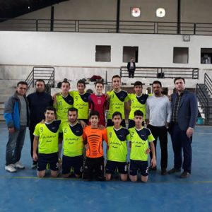 خمام - قهرمانی تیم امام حسین (ع) در رقابتهای فوتسال آموزشگاههای مقطع متوسطه اول گیلان