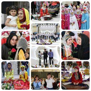 خمام - جشن نوروز دانشآموزان دختر و پسر یاس نو و یاس نوین برگزار شد