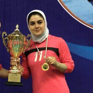 خمام - آذربایجان غربی در لیگ دسته اول کبدی بانوان کشور به عنوان قهرمانی دست یافت