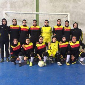 خمام - تیم فوتسال بانوان خمام در رده سوم جدول لیگ برتر استان گیلان قرار گرفت