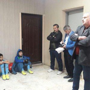 خمام - دیدار تیم فوتبال شهرداری خمام با سپیدرود رشت به تساوی انجامید