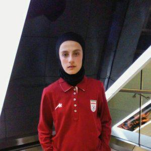 خمام - زهرا معصومی برای شرکت در اردوی تیم ملی فوتبال بانوان زیر ۱۶ سال به هنگکنگ اعزام میشود