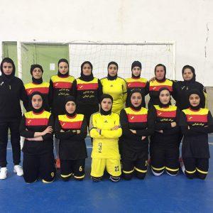 خمام - شروع خوب تیم خمام در دور برگشت از مسابقات فوتسال بانوان لیگ برتر استان گیلان