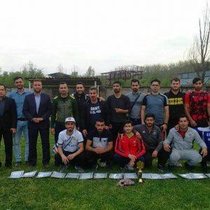 خمام - تیم شهید فانی به نائب قهرمان جام دهیاریهای شهرستان رشت دست یافت