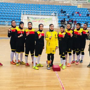 خمام - تیم فوتسال بانوان خمام به نائب قهرمانی مسابقات لیگ برتر استان گیلان دست یافت