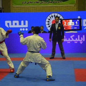خمام - علیرضا نوروزی در رقابتهای سوپر لیگ کاراته کشور به قضاوت میپردازد