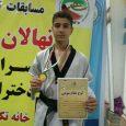 محمدحسن احمدی به مدال برنز رقابتهای تکواندو نونهالان استان گیلان دست یافت