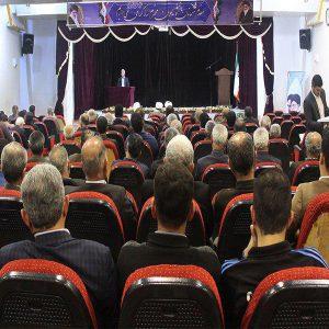 خمام - برگزاری گردهمایی هیئت امنای مساجد بخش خمام