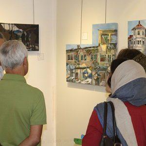 خمام - نمایشگاه گروهی نقاشی «جان گیلان» در نگارخانه کوچه باغ برگزار شد