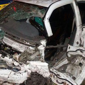 خمام - ۲ کشته و ۳ مصدوم در حادثه تصادف دو خودروی پراید