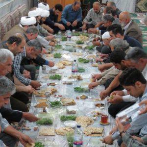 خمام - از برگزاری محفل انس با قرآن کریم تا ضیافت افطار در مساجد خمام