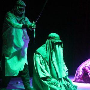 خمام - نمایش «شهید محراب» در خمام برگزار شد