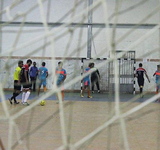 نزدیکشدن به پایان رقابتهای فوتسال سالن شهدا و فوتبال گلکوچک سالن تختی