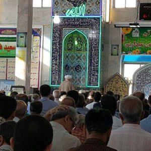 خمام - نماز عید سعید فطر در خمام اقامه شد