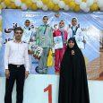 فاطمه قربانی به مدال طلای مسابقات تکواندوی دختران خردسال کشور دست یافت