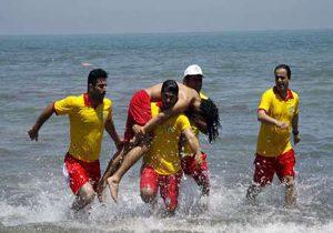 خمام - ۲۳ نفر از غرق شدن در ساحل جفرود بالا نجات یافتند