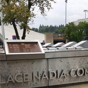 خمام - نام «علی بحری خمامی» در استادیوم المپیک مونترال حک شده است