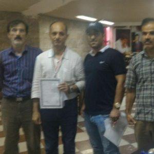 خمام - پوریا اقدام در رقابتهای شطرنج کارگران استان گیلان به عنوان قهرمانی دست یافت