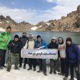 صعود کوهنوردان خمامی به سومین قله مرتفع ایران