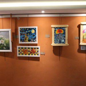 خمام - نمایشگاه گروهی نگارگری و نقاشی «نگارینه» افتتاح شد